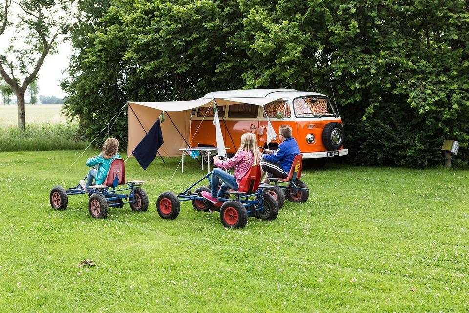 Vacances en famille dans un camping au Finistere Sud